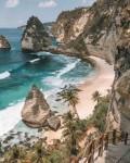 Nusa Penida, a Tourist Attraction in Bali with a Vast Ocean Phenomenon