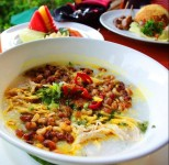 The Recipe for Buffalo Porridge, a Typical Porridge from Bali that is Suitable for Breakfast Menu