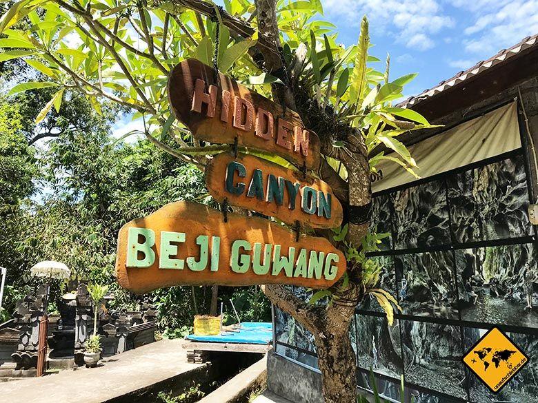 Hidden Canyon Beji Guwang Bali's Hidden Tourist Destinations