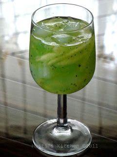 Resep Minuman Segar dari Mentimun dan Nata De Coco
